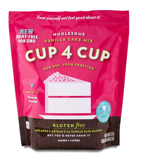 Cup4Cup Wholesome Vanilla Cake Mix