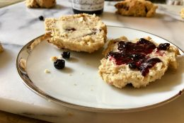 Chocolate Cherry Gluten-Free Scones {Recipe Redux}