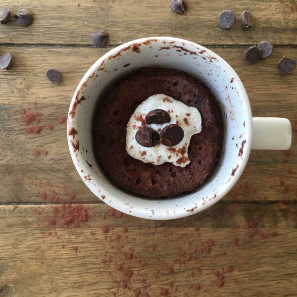 Triple Chocolate Protein Mug and Sunwarrior Giveaway - top