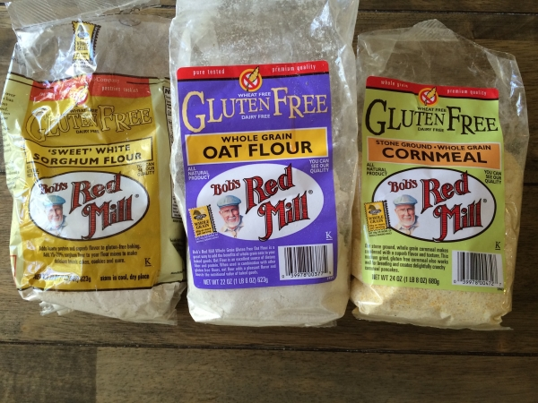The gluten-free flours that make this yummy for your tummy