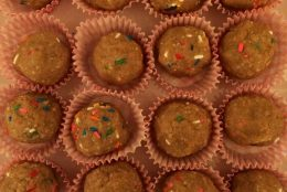 Nutty Cookie Dough Bites