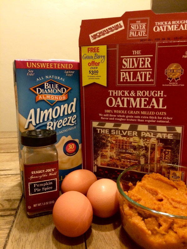 Just a few simple ingredients make this Fall breakfast recipe