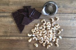Chocolate Covered Cashew Clusters {Recipe Redux}