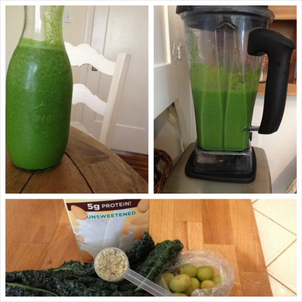 Cotton Candy Kale Smoothie