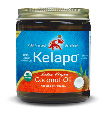 Kelapo 8oz Coconut Oil