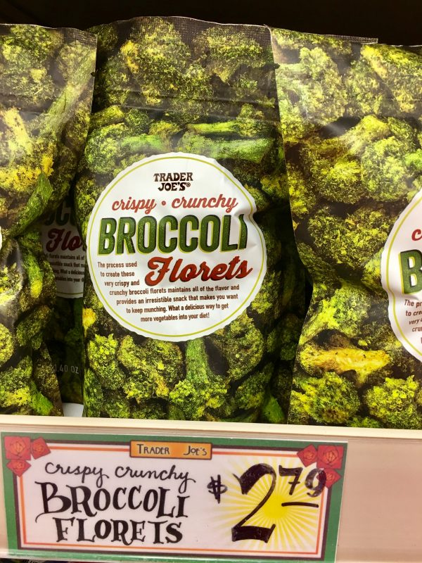 My Favorite Trader Joe's Finds - Crispy Crunchy Broccoli Florets