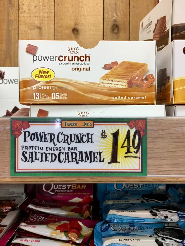 My Favorite Trader Joe's Finds - Salted Caramel Power Crunch