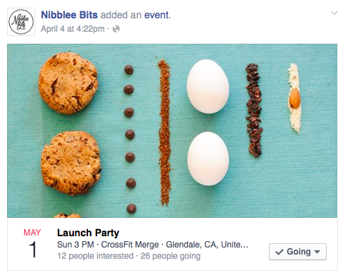 Nibblee Bits Launch Party