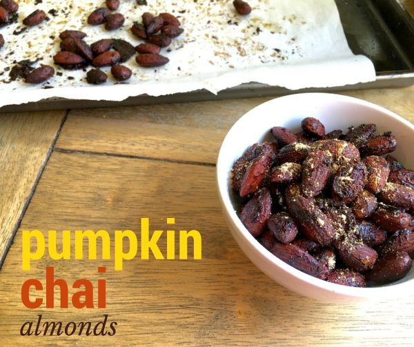Pumpkin Chai Almonds