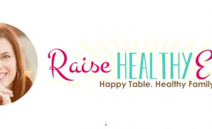 Raising Healthy Eaters: My Interview with Maryann Jacobsen MS RD