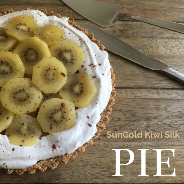 SunGold Kiwi Silk Chocolate Pie