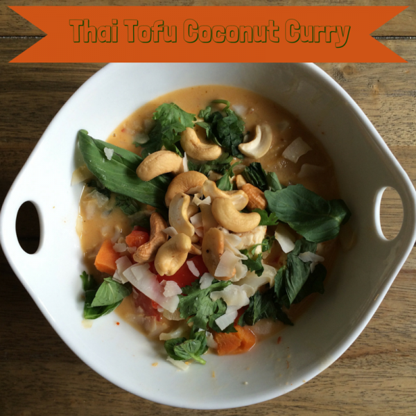 Thai Tofu Coconut Curry