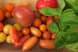Heirloom Tomato Salad with Mustard Vinaigrette