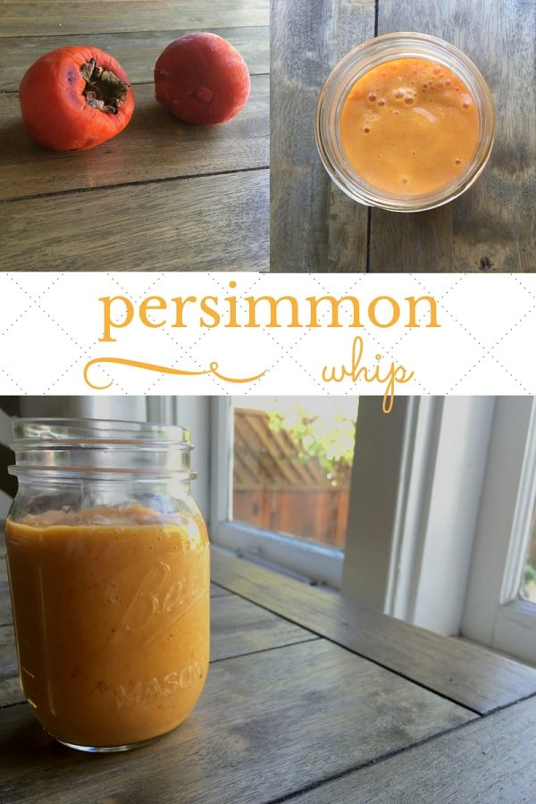 persimmon whip